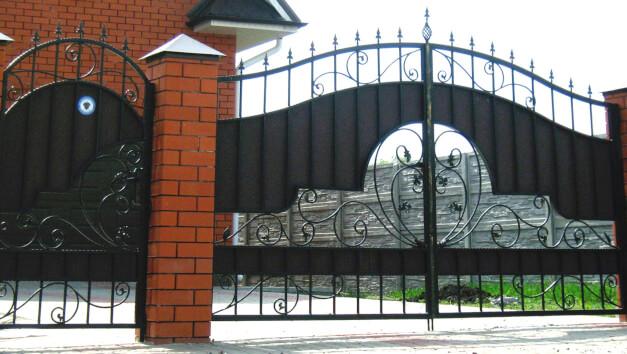 Ворота сварка изображение