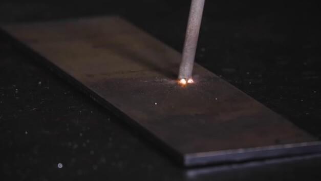 Первичное касание электрода изображение
