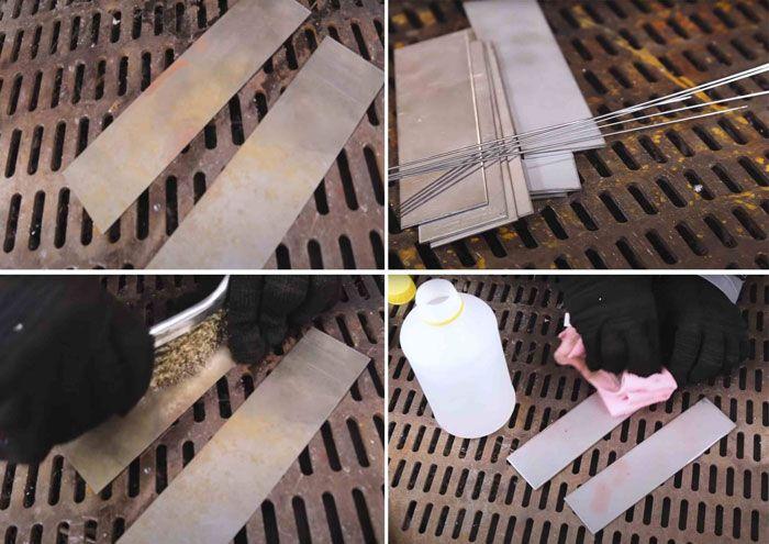 Подготовка поверхности для tig сварки